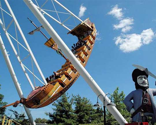 best pirate ship fair rides supplier in China