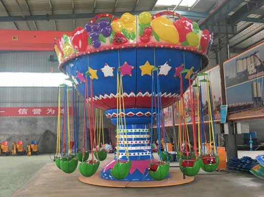 Funfair swing rides for kids