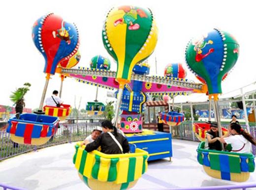 Funfair samba balloon rides