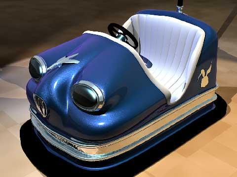 Gasoline Powered Bumper Cars