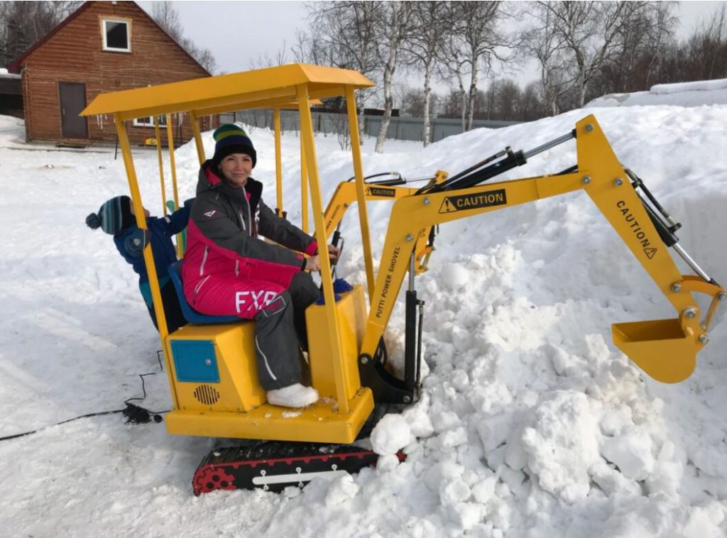 excavator rides for sale