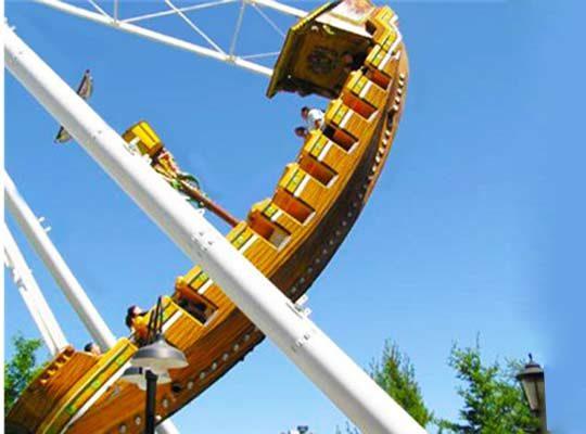 pirate ship amusement park ride supplier